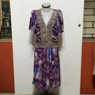 Vivienne Tam dress (can fit from semi large to semi xl)