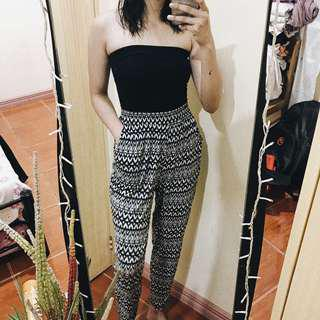H&M BnW Pants (Trousers/Harem/Boho)