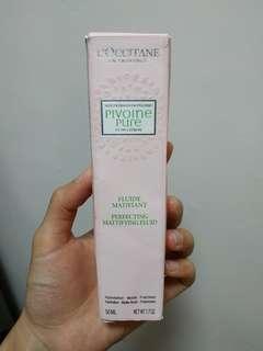 半價出售 Loccitane 牡丹淨化控油保濕乳