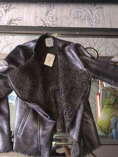 Guess suede Metallic jacket