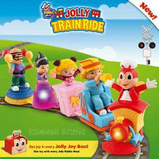 JOLLIBEE TRAIN RIDE