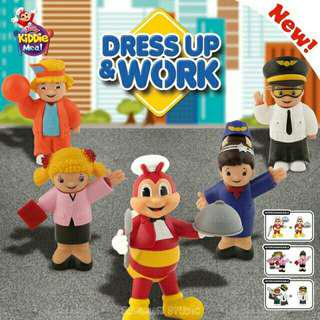 JOLLIBEE DRESS UP & WORK