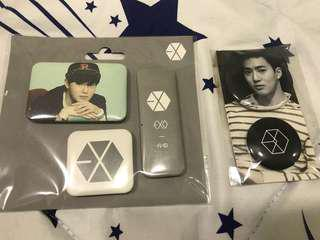 Exo Suho Official Magnet Set