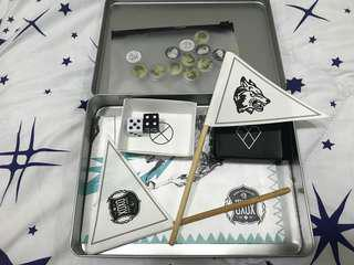 Exo Official Blue Marble Game Set