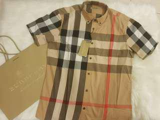 Authentic Burberry mens classic shirts size xl *brand new