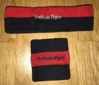 ONITSUKA TIGER Head & Wrist Sportband (Price Inclusive Postage)