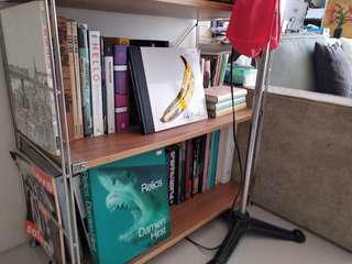 (二手 歡迎議價) 日本 MUJI 無印良品 SUS 橡木 層架組 寬/小 寬86×深41×高83cm 書架 書櫃
