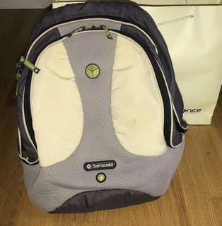 Authentic Original SAMSONITE Backpack with Pouch