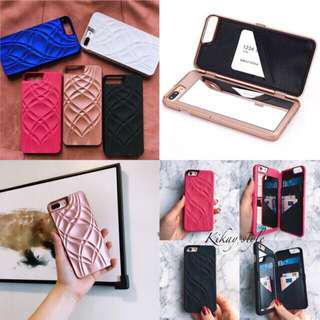 Iphone Case with mirror and card/money holder