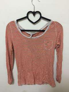 Old Navy Orange Long Sleeves