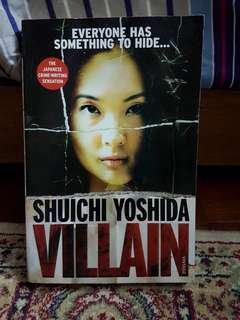 Villain English Novel Asian Literature