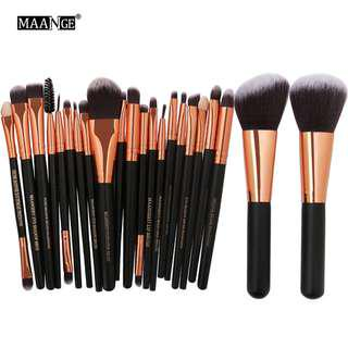 MAANGE 20/22Pcs Beauty Makeup Brushes Set