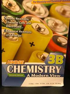 HKDSE Chemistry 3B second edition