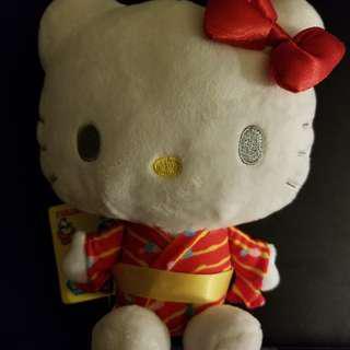 Hello Kitty 和服造型公仔