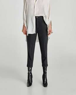 ZARA Pinstriped Trousers