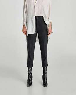 ZARA Pinstriped Trousers