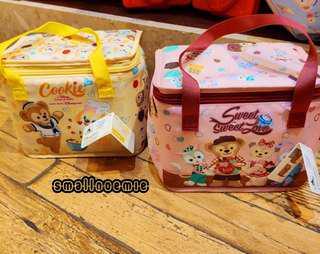 香港迪士尼Duffy & Friends , cookie 卡通保温手提袋