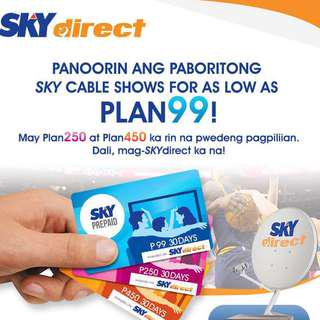 Sky Cable Prepaid 99