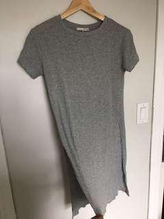 Oak and fort grey T size small