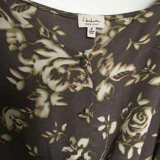 Aritzia silk dress size small/ medium