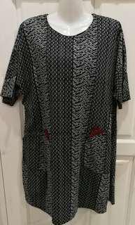 L Printes Dress