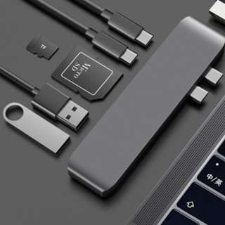 USB Type C Dongle for Macbook Pro (Space Grey)