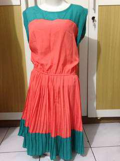 Dress Green Orange