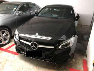 Mercedes Benz C200 coupe sports