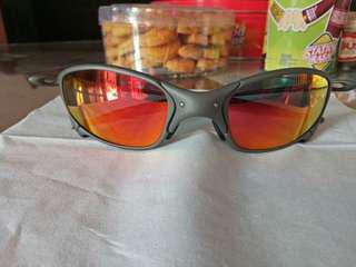 Kacamata Sunglasses Oakley Juliet X Metal Ruby Iridium SKU Original Microbag Only