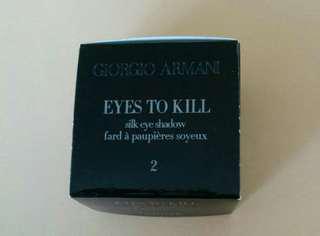 Giorgio Armani eye shadow *Eyes to Kill*