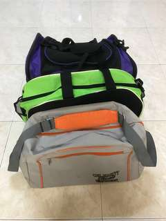3 Luggage/ Gym Bag