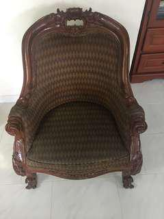Brunei Wedding Antique Chair