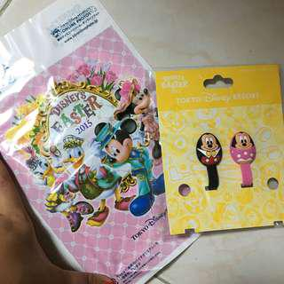 Tokyo Disneyland Easter 2015 Earphone Cable Clip