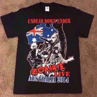 ROB ZOMBIE - Australia 2014 Tour Shirt from US