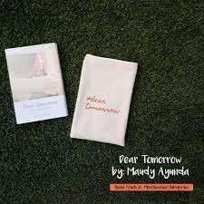 Dear Tomorrow Book by Maudy Ayunda