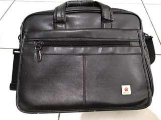 tas laptop polo classic kulit cocok buat kerja ke kantor