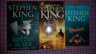 Stephen King - Doctor Sleep , Wolves of the Calla , Revival