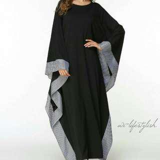 (PO) P04 Dress / Bat Sleeve