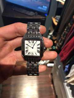 Cartier men's tank watch