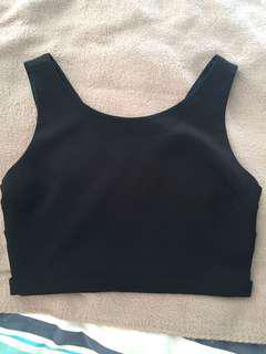 Forever 21 cut out crop top