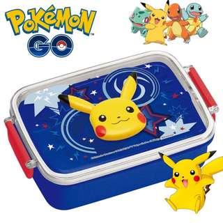 日本製 Pokemon 比卡超 兒童餐 便當盒 飯盒 保鮮盒 野餐盒 450ml
