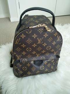 Replica Louis Vuitton Palm Springs mini backpack leather