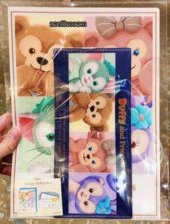 香港迪士尼Duffy & Friends可愛卡通文件File
