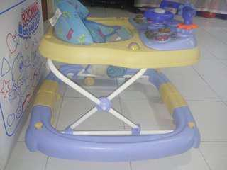 Family baby walker for boy