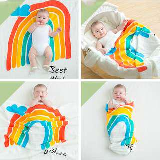 🚚 Premium Quality organic cotton baby swaddle/blanket/towel