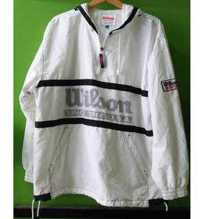 wilson hoodie jacket kain payung