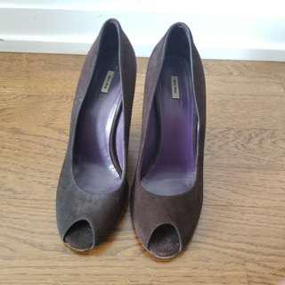 Designer heels (Miu Miu)