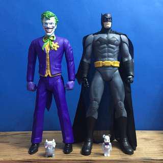 🚚 蝙蝠俠與小丑 超大公仔