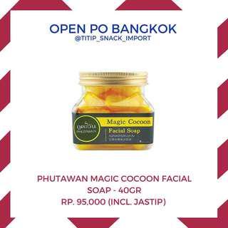 Phutawan magic cocoon facial soap