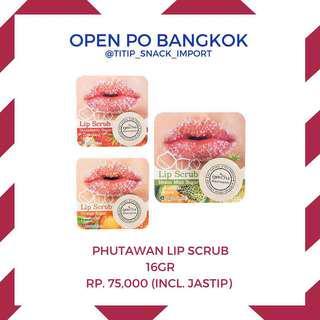 Phutawan lip scrub